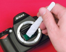 How to clean your DSLR Sensor properly